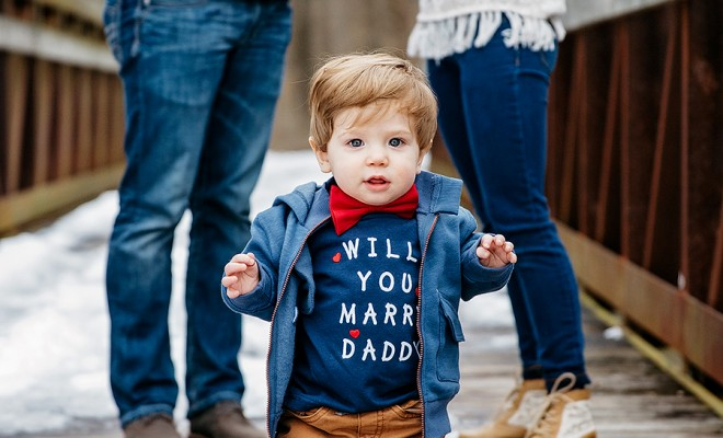 merry me-baby proposal